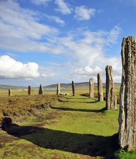Orkney-Inseln - Ring of Brodgar